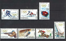 SPAIN ESPAÑA 1968 MNH SC.1543/6+1509/11 Olympic Games Mexico and Grenoble