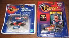 DALE JARRETT - 88- DIECAST CARS - SET OF 2 - NASCAR - WINNER'S CIRCLE - 1:64