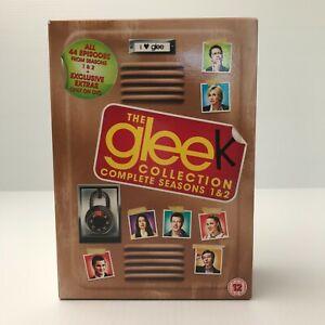 The Glee Complete Seasons 1 & 2 Collection DVD Box Set 14 Discs   Region 2 UK