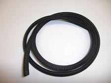 Einfach zum Aufklemmen: Kederband mit Stahleinlage, Klemmbereich 1-2mm - schwarz