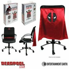 Marvel Deadpool Polyester Adjustable Red Decorative Chair Cape