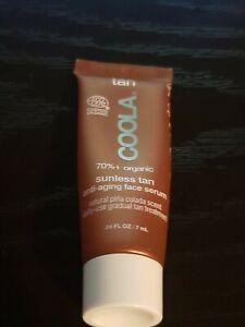 COOLA Sunless Tan Anti-Aging Face Serum! Travel Sizes 0.24 fl oz