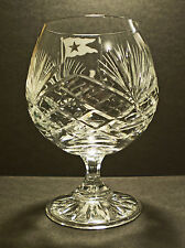 White Star Line, RMS Titanic, Hand Cut Crystal Brandy Glass, 1912 Style Replica