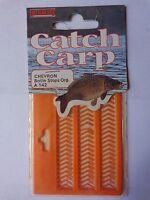 Catch carp Chevron Boilie Stops light orange approx 75