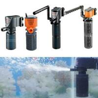 3 in 1 Aquarium Internal Oxygen-Submersible Water Pump For Fish Tank Pond*NICE