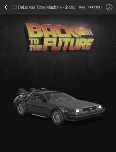 VEVE Back to the Future DeLorean Rare NFT - FA#03031/25000