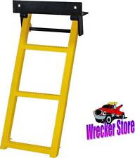 Retractable Yellow Truck, Trailer Body, Step Ladder, 3 Rung
