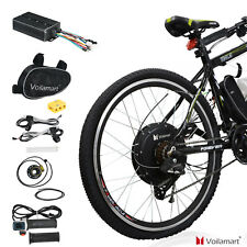 Electric Bicycle Rear Wheel Kit Conversion E Bike Motor 26