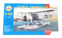 SMER Plastic Model Kit 1/48 Military Airplane Fairey Swordfish Mk2