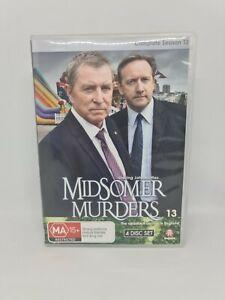 MIDSOMER MURDERS Season Thirteen DVD Region 4 TV Show V Good Condition FREE SHIP