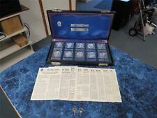 Chase Commemorative Society Silver (.999) Proof Set – The Second Ten w/Case