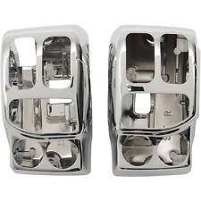 Carcasas Interruptores Para Harley-Davidson® Touring Chrome Switch Housing Kit