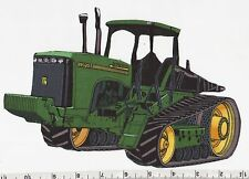 JOHN DEERE HARVESTOR ~IRON-ON FABRIC APPLQUE~NO SEWING REQUIRED