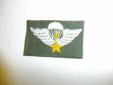 b1900 RVN Vietnam Airborne Master Paratrooper Jump Parachute Wing emb OD IR4A2
