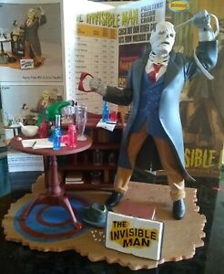 Moebius The Invisible Man Professionally  built up model and hand painted!