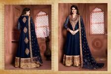Indian anarkali salwar kameez suit designer bollywood ethnic pakistani wedding 1