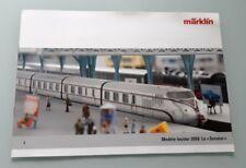 CATALOGUE MARKLIN LE SENATOR ANNÉE 2008 TRAIN ELECTRIQUE HO LOCOMOTIVE WAGON TGV