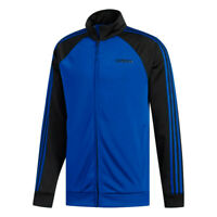 Adidas Essentials 3-Stripes Track Jacket - Men's Casual  Blue