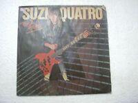 SUZI QUATRO ROCK HARD  RARE LP RECORD vinyl 1980 INDIA INDIAN VG+