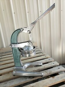 Vintage Petrin Manual Lever Juicer HEAVY DUTY Solid Construction Free Ship