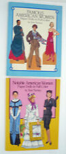 FAMOUS AMERICAN WOMEN and NOTABLE AMERICAN WOMEN Paper Dolls