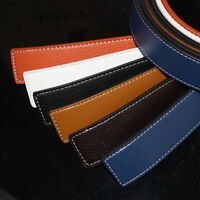 New Men's Leather For Pin Buckle Colorful Casual Luxury Waist Strap Belt
