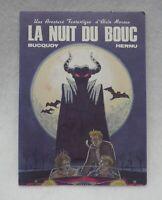 La Nuit du Bouc Postcard mailed in 1984