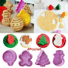 Fondant Gingerbread Man Biscuit Cake Mold Christmas Baking Mould Cookie Cutter