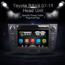 Car In Dash DVD Video Player Radio BT Head Unit Stereos for Toyota RAV4 07-11