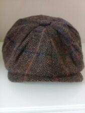 Vintage Brown Men's Newsboy Cap by Major Made in England Peaky Blinders