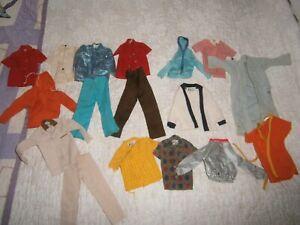 Lot  17 Pcs. Ken Doll Clothes Vintage ORIGINAL