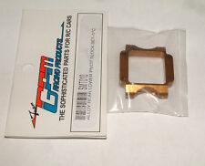 MINI-T LATE-MODEL GPM ALUMINUM REAR PIVOT BLOCK GOLDEN BLACK SMT010