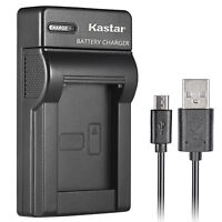 Kastar EN-EL12 battery charger for Nikon AW120s P300 P310 P330 P340 S31 AW100s