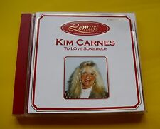 "CD "" KIM CARNES - TO LOVE SOMEBODY "" 10 SONGS (REST ON ME)"