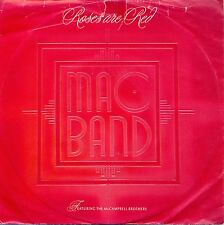 """Mac Band: Roses Are Red 7"""" Vinyl Single"""