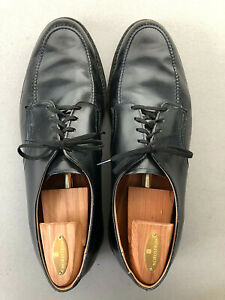 RED WING USA Vintage Black Leather Oxford Union Made Mens Shoes 13-14 M/W EUC