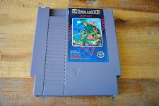 Jeu COMMANDO pour Nintendo NES NTSC (US)