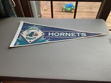 Vintage NBA Charlotte Hornets Basketball Sports Souvenirs 90's Pennant