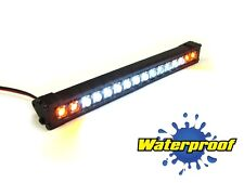 """Gear Head RC 1/10 Scale Trek Torch 5"""" LED Light Bar - White and Amber GEA1356"""