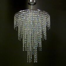 Chrome Lead Crystal Glass Chandelier Ceiling Light Lamp Lighting MOSS40MIX