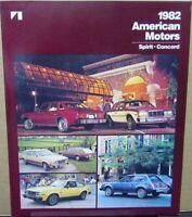 1982 American Motors Spirit & Concerd Sales Brochure Folder Original