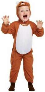 Lion Toddler Fancy Dress Costume Age 3 Year Old Kids Child Outfit