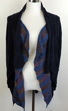 FIETS YOOR 2  Anthropologie Womens XS Sweater Wool Cardigan Open Front Fly Away