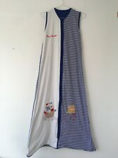 Slumbersac Sleepsafe Sleeping Bag Age 3-6 years Tog 0.5 Blue White Striped 130cm