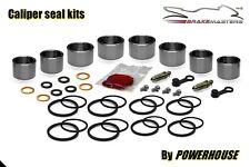 Suzuki RGV 250 VJ21 front brake caliper piston seal repair kit J K L 1989 1990