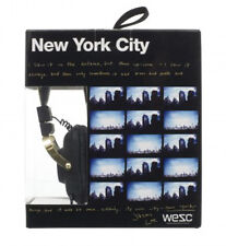 WeSC Premium Black New York Maraca Headphones Jason Lee B406111999 NY NIB