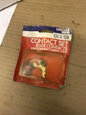 UNIPART CONTACT SET GCS 128 FOR CLASSIC CAR/VAN NEW OLD STOCK.