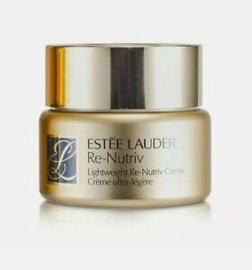 Estee Lauder RE-NUTRIV Lightweight Creme 1.7oz/50ml, NIB