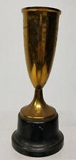 Antique Vintage Brass Decorated Polish Trophy Connecticut Meriden Wallace Prize