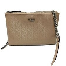 GUESS Dusty Pink Crossbody Chain Strap Purse